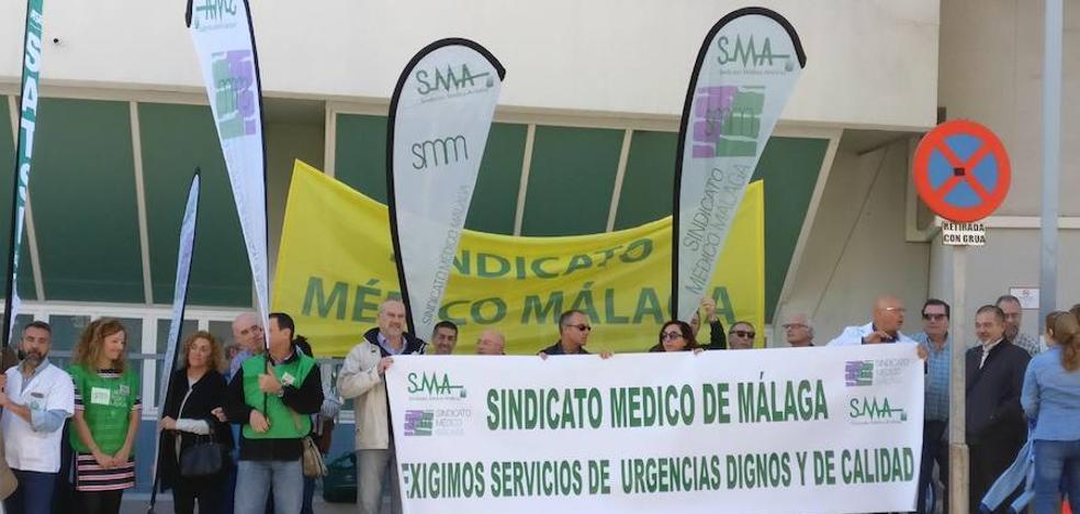 Los trabajadores del centro de salud de Las Lagunas exigen más personal