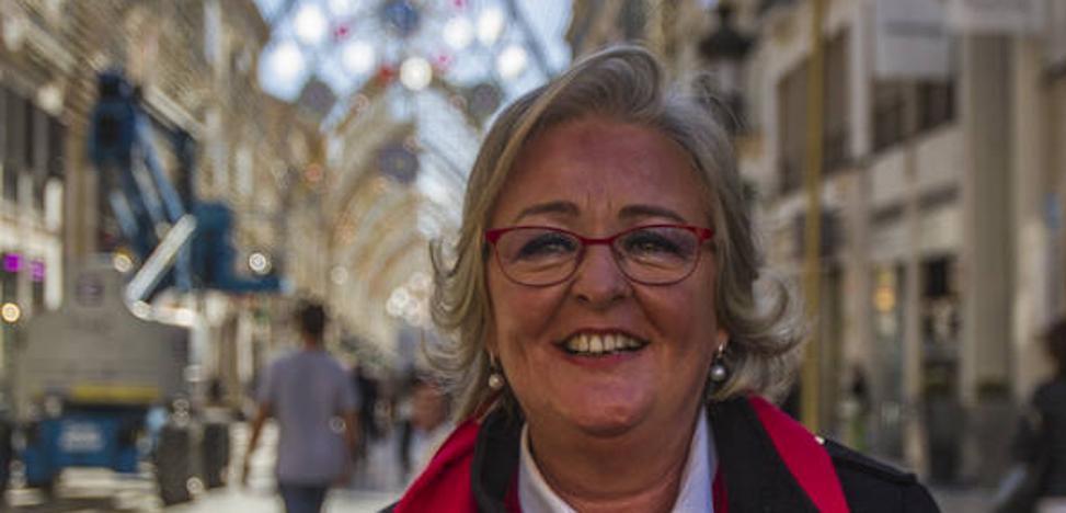 Teresa Porras: «Málaga se ha convertido en un referente de la iluminación navideña»