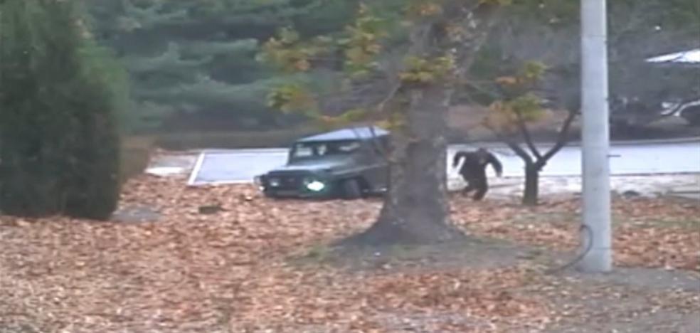 Dramática huida  desde Corea del Norte