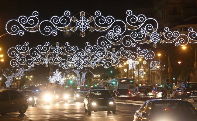 Todas las calles de Málaga donde habrá iluminación navideña