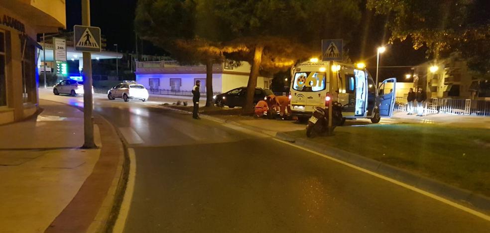 Fallece una mujer de 33 años en un accidente de motocicleta en Torre del Mar