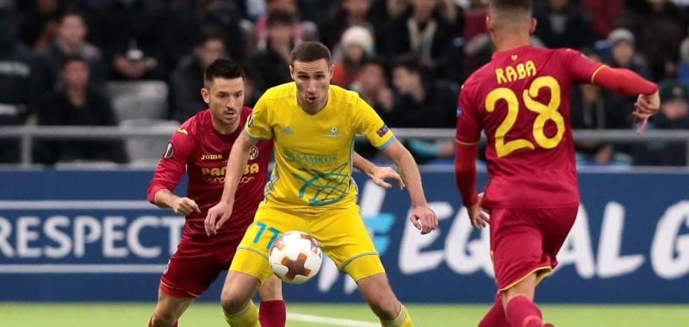 Astana-Villarreal, en directo
