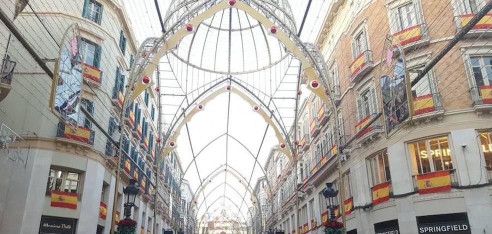 Todos los detalles del nuevo alumbrado navideño que estrena el viernes 24 la calle Larios de Málaga