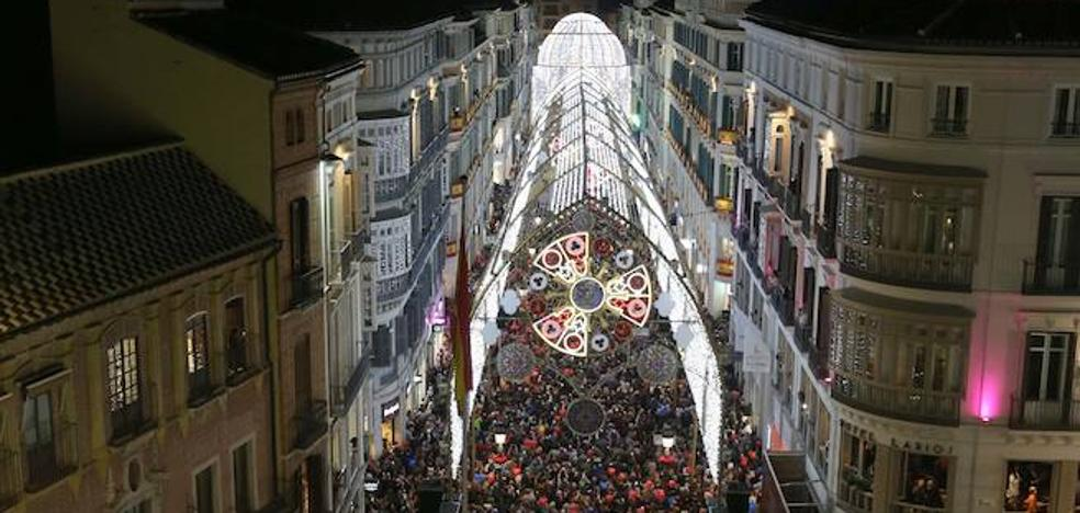 Málaga, templo de la Navidad