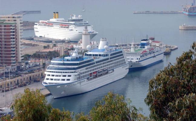 Málaga recibe cerca de 350.000 cruceristas hasta septiembre