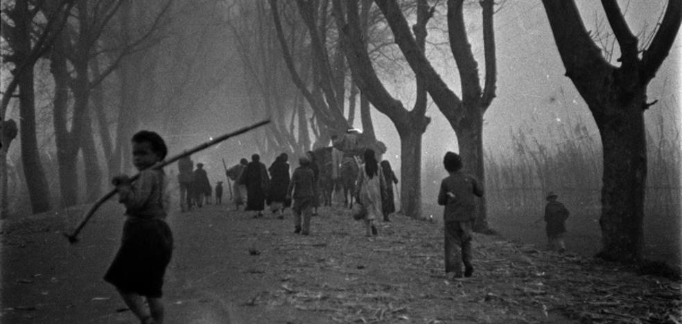 'La Desbandá', vista por Bertolt Brecht