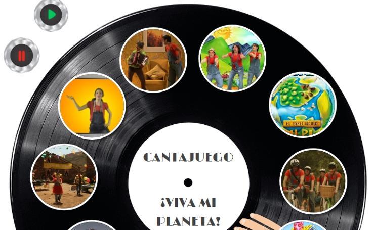 Canciones de los Cantajuego