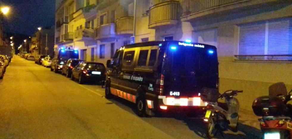 Un detenido en la operación de los Mossos contra el yihadismo en Barcelona