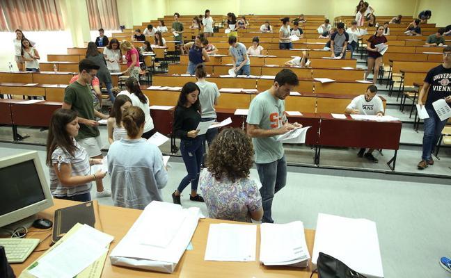 Los exámenes de selectividad de este curso serán los días 12, 13 y 14 de junio