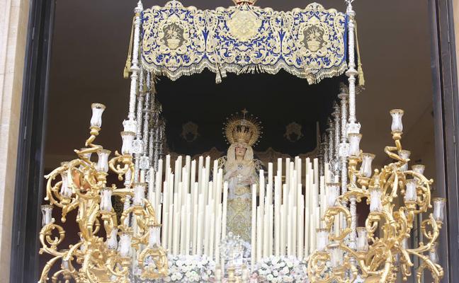 La Virgen de la Concepción ocupará el altar mayor de los Santos Mártires durante sus cultos