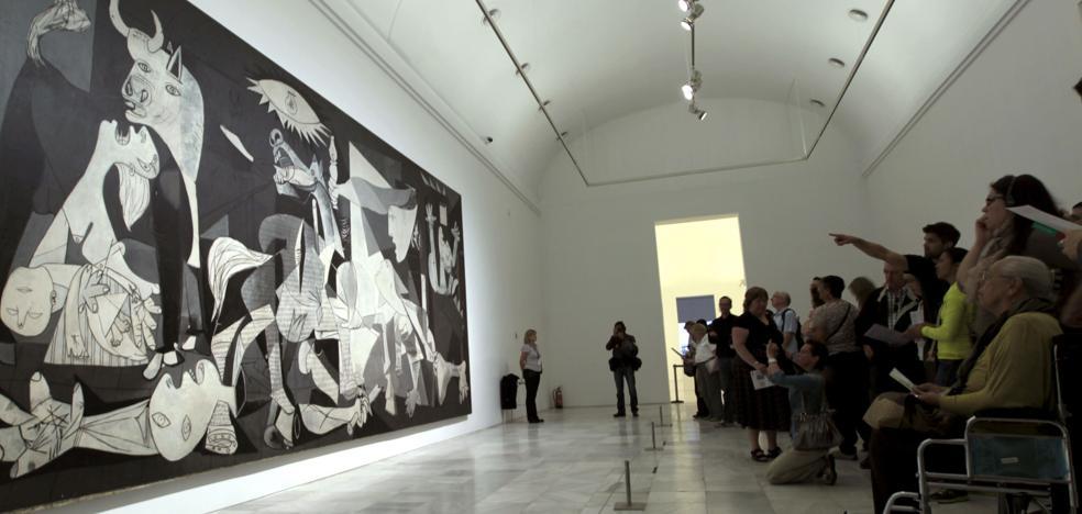 EH Bildu y PNV denuncian que el 'Guernica' no se mueve «por motivos políticos»