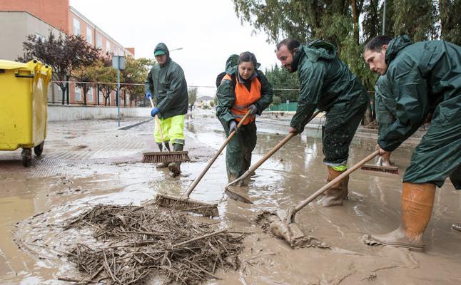 Campillos pedirá la declaración de zona catastrófica por los daños de las fuertes lluvias