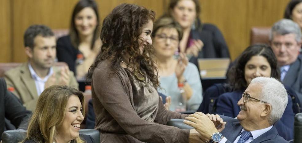 Susana Díaz se asegura el final de la legislatura tras aprobar el Presupuesto