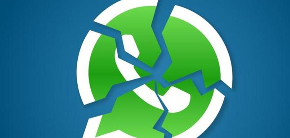 WhatsApp, caído en gran parte de España y Europa