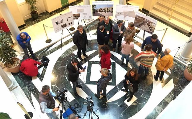 Velez-Málaga presenta el proyecto de peatonalización del centro a los vecinos