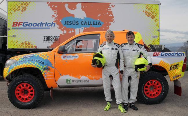 Jesús Calleja: «Cuantas más dificultades tenga el Dakar, mejor para mí»