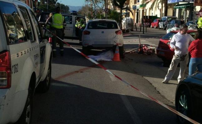 Muere una mujer tras un atropello en Torrox Costa