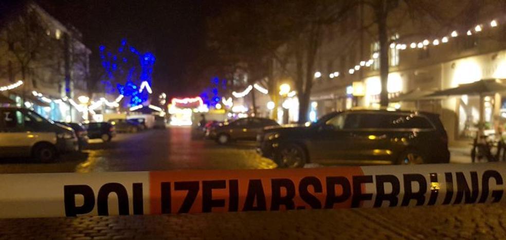 La Policía alemana desactiva el artefacto explosivo hallado en un mercadillo navideño de Potsdam