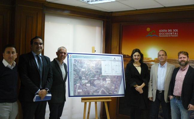 Acosol invertirá un millón de euros en obras para la mejora del abastecimiento de agua en Manilva