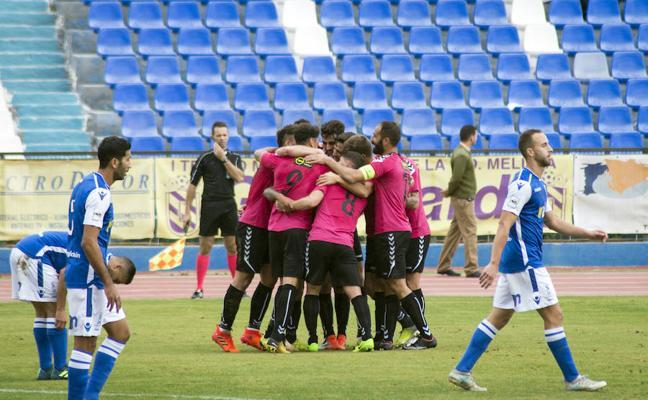 El Marbella conquista Melilla