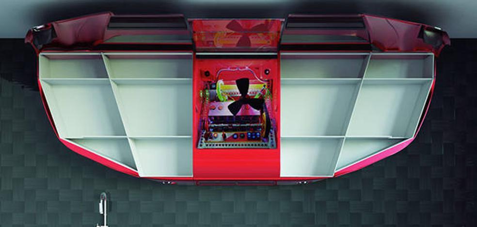 PVK Team, la empresa malagueña que aplica la tecnología y la estética del mundo del motor a las cocinas