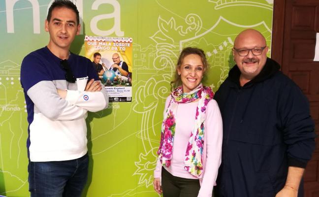 El humor costumbrista de Manolo Medina y Javier Vallespín llega a Ronda