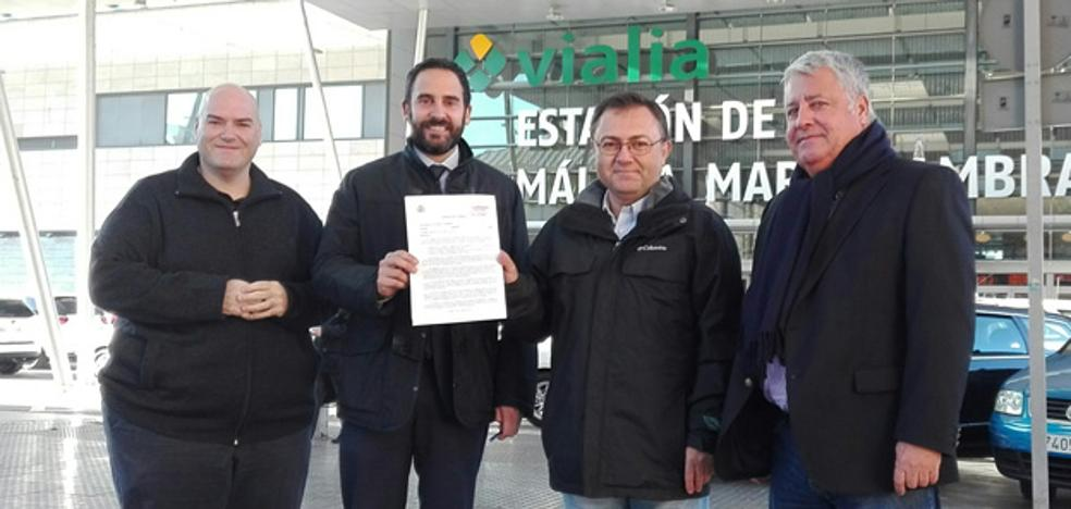 El PSOE califica de «chapuza» el 'bypass' proyectado para el AVE entre Málaga y Sevilla