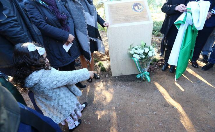 Los actos en memoria de García Caparrós, en imágenes
