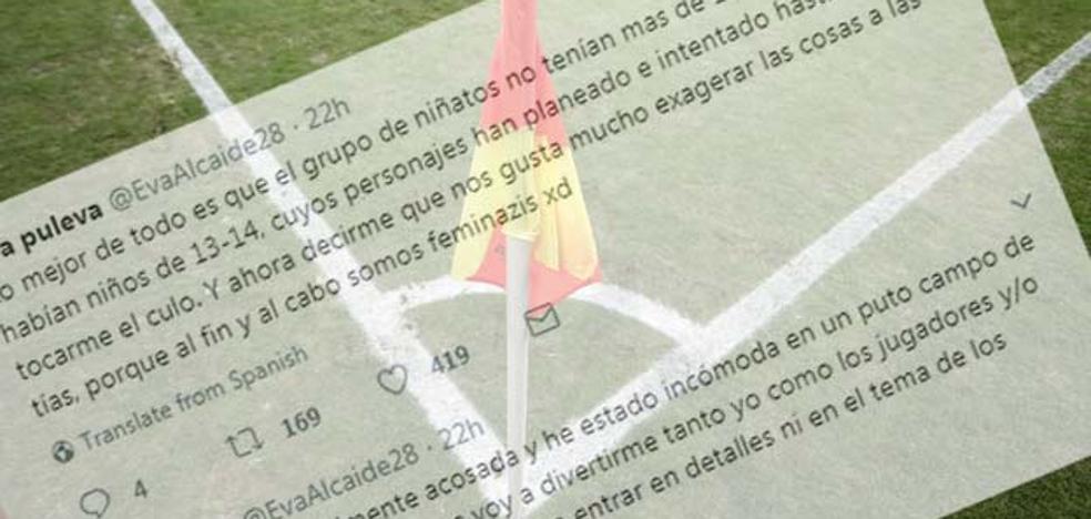 El Alhaurín expulsa a varios aficionados por insultos machistas a una árbitro asistente