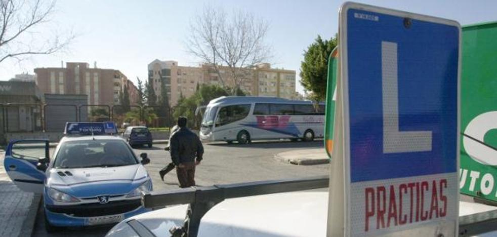 Los exámenes de conducir se retoman en Málaga