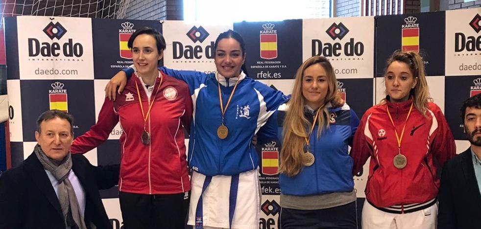 María Torres gana la liga sénior de España