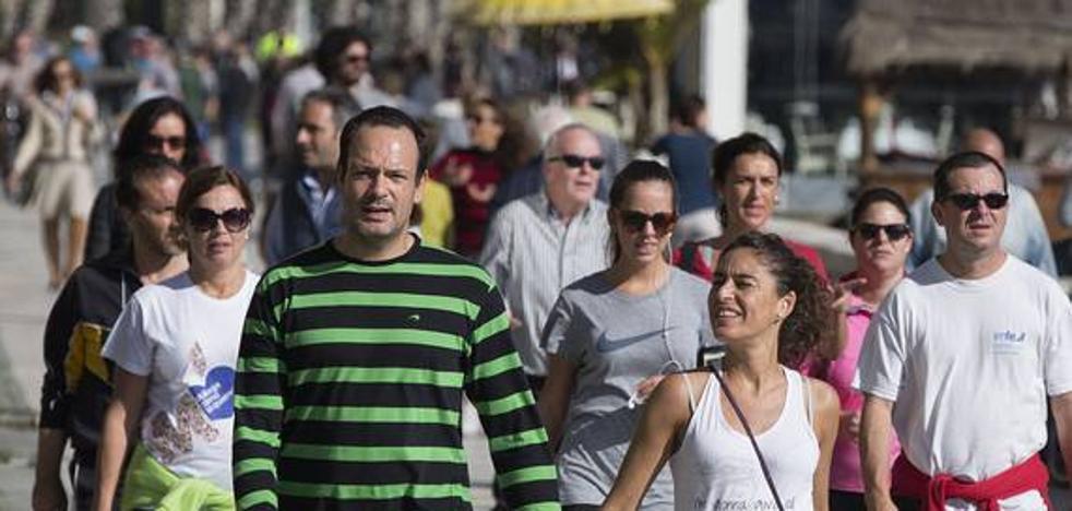 Meteorología prevé temperaturas al alza y sin lluvias durante el puente en Málaga