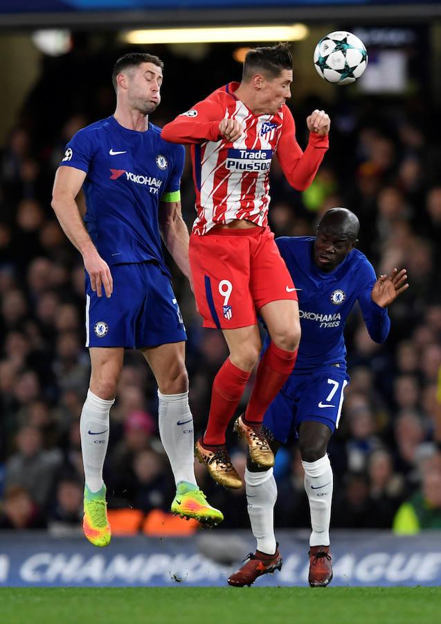 Los mejores momentos del Chelsea-Atlético, en imágenes