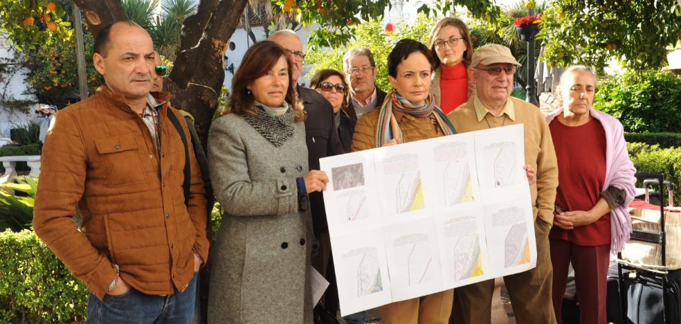 Los antideslinde denuncian que el urbanismo de Marbella puede acabar encallado otra vez en los tribunales