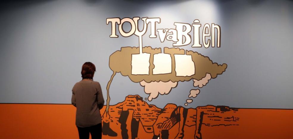 El Pompidou de Málaga renueva su colección con un canto a las utopías