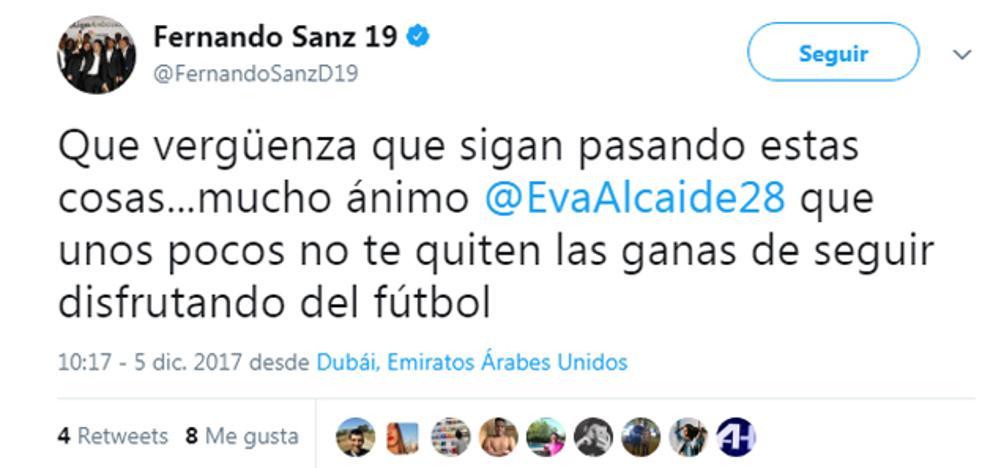 Clubes y deportistas de toda España se solidarizan con Eva, la 'linier' insultada en Alhaurín