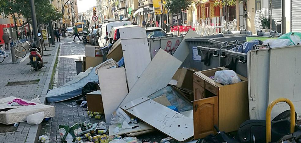 Calle Jaboneros: un carril asqueroso