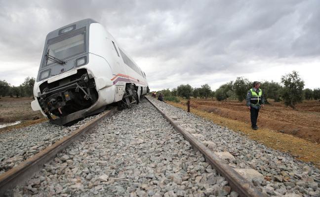 Un juzgado abre diligencias por el accidente del tren Málaga-Sevilla y pide a Renfe la caja negra
