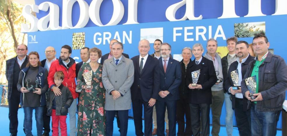 El Paseo del Parque se llena de 'Sabor a Málaga'