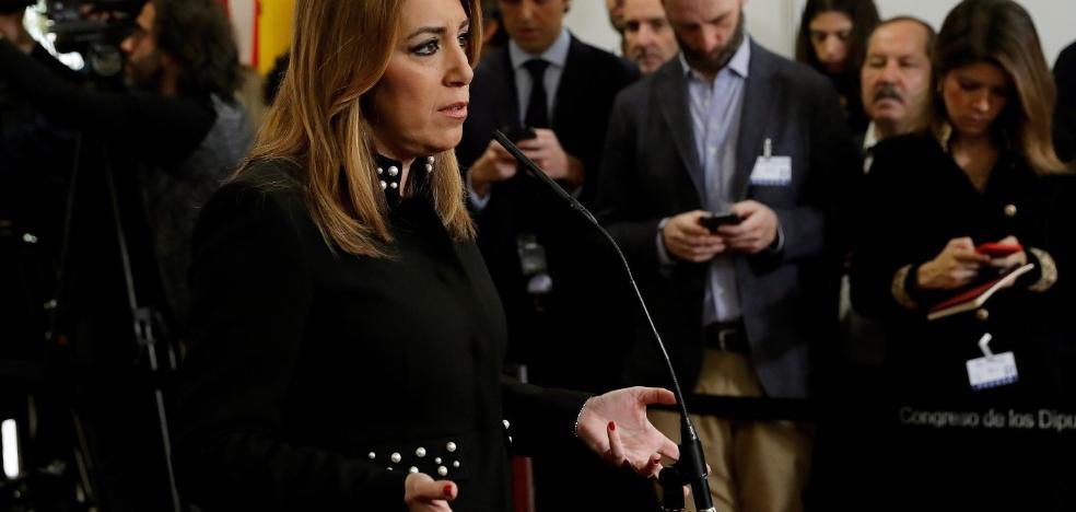 Susana Díaz emplaza a Rajoy a cumplir el compromiso de reformar la financiación