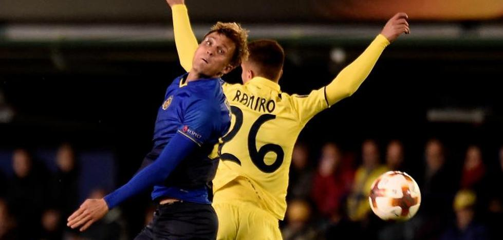 Derrota intrascendente del 'equipo B' del Villarreal