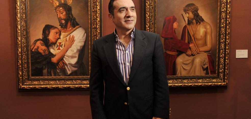 La muestra de retratos de Montiel en Antequera desborda previsiones y supera ya las 3.000 visitas