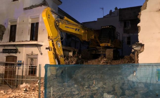 El arqueólogo municipal niega que los restos retrasen los derribos en Las Flores en Estepona