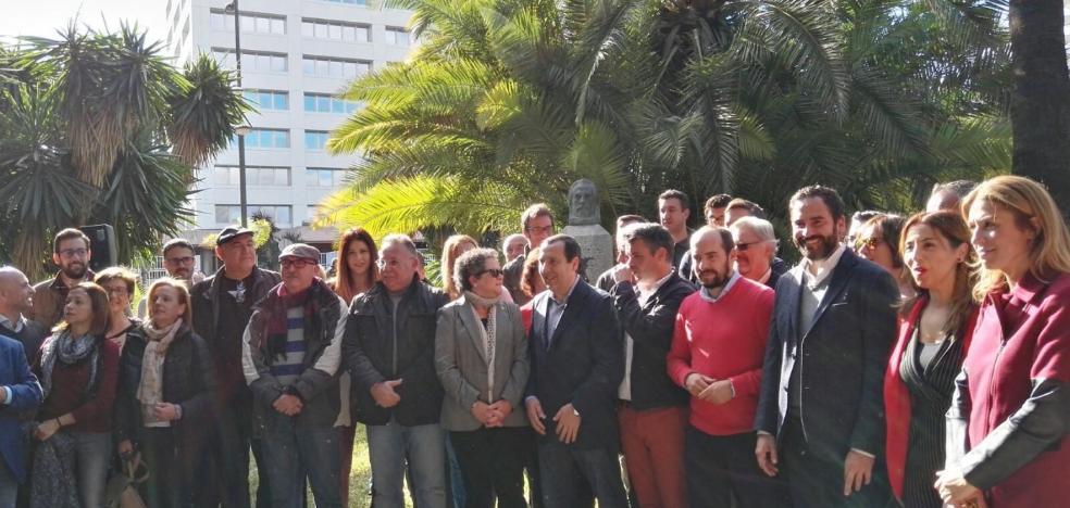 El PSOE reivindica la solidaridad territorial en el aniversario de Pablo Iglesias