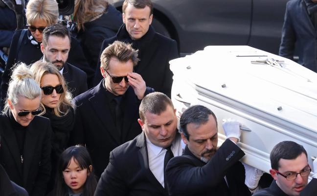 Francia despide a Hallyday con honores de jefe de Estado