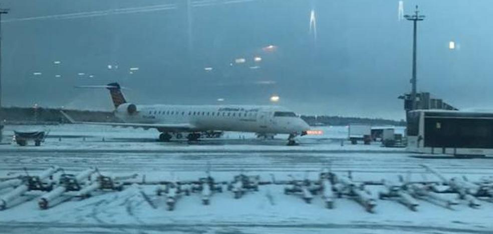 Seis vuelos con destino o salida desde Málaga, cancelados y afectados por el temporal en Europa