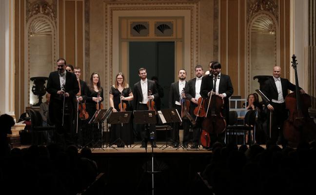 Concerto Málaga repasa 20 años de trayectoria en la Sala María Cristina