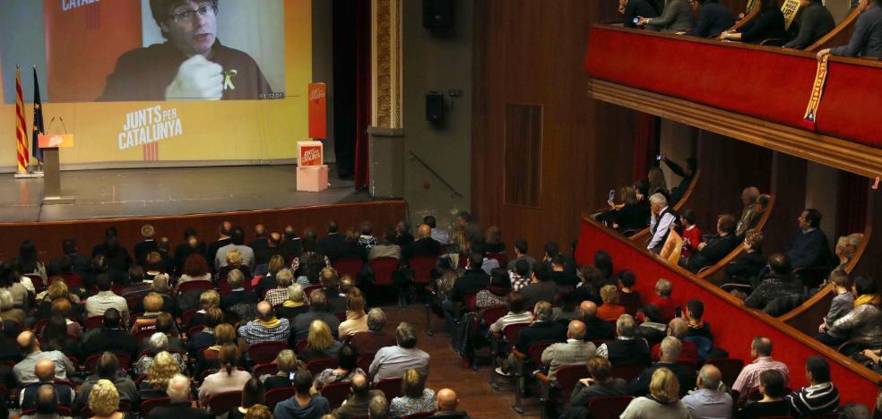 Puigdemont asegura que tomará posesión de su acta y rechaza «terceras vías»