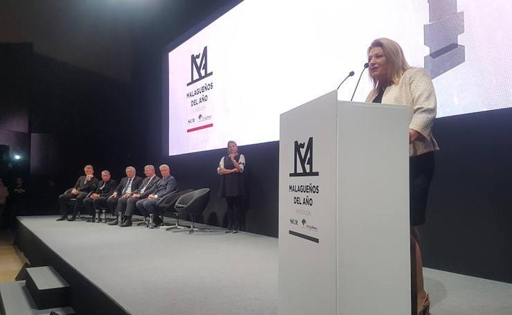 Así fue la gala de los premios Malagueños del Año 2017