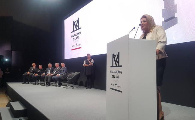 Todas las intervenciones de los premiados en los Malagueños del Año 2017